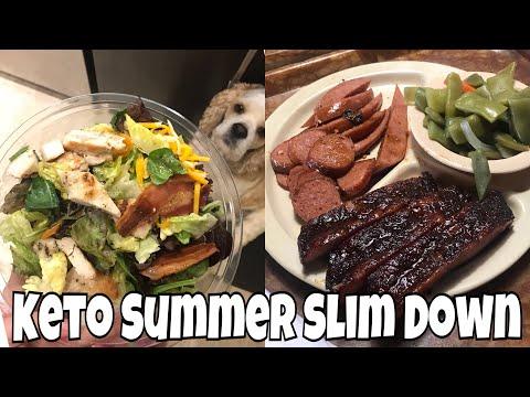 Keto Summer Slim Down Day 11   Making McDonald's Salads Keto & Full Day of Eating