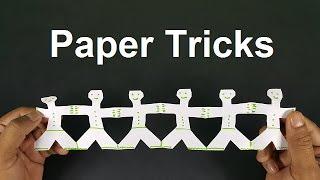 5 SIMPLE PAPER TRICKS!