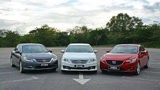 Ford Mondeo или Mazda 6 - что лучше? - carVScar