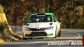 - Test Monte Carlo 2017 Skoda R5 Jan Kopecky - Checkpoint Rallye -