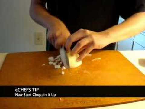 How to properly chop an onion