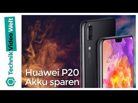 Huawei P20 Pro Akku sparen