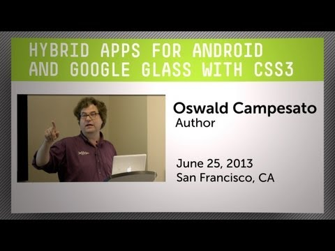 Hybrid Apps for Android and Google Glass with CSS3