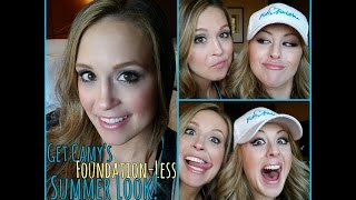 *GO FOUNDATION-LESS! *Easy Summer Look + *Special Guest!
