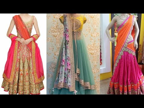 Ways of Wearing Lehenga Saree | 5 Gorgeous Ways To Wear A Lehenga Saree Step By Step To Look Slim
