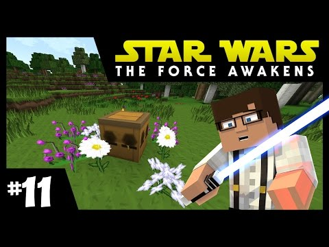 Star Wars: The Force Awakens Ep. 11 || BEEEEES || Minecraft Modded Survival