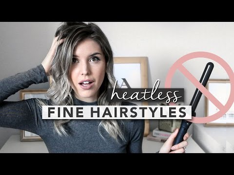 HAIRSTYLING IDEAS FOR FINE HAIR