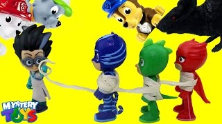PAW PATROL play CLAW MACHINE Surprise Toys - Peppa Pig, PJ Masks, Finding Dory & Secret Life of Pets