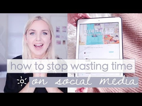 How to Stop Wasting Time on Social Media