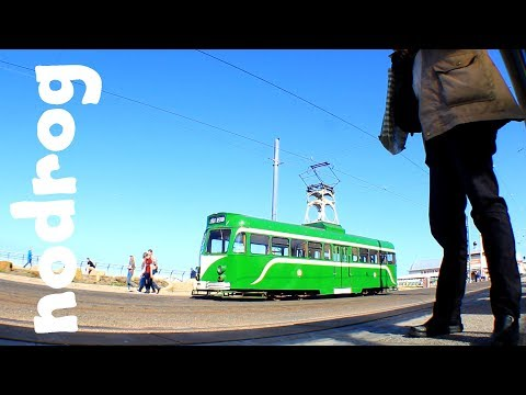 Tramway Extension to Blackpool North - Blackpool Tram Vlog
