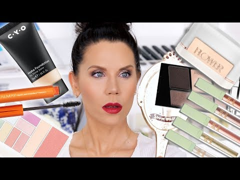 NEW DRUGSTORE MAKEUP | Get Ready With Me