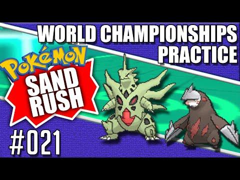 Sand Rush Rage Quit Team - Pokemon World Championships Practice 020