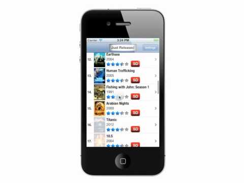 IWGuide for Netflix - iPhone demonstration