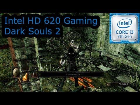 Intel HD 620 Gaming - Dark Souls 2 - i3-7100U, i5-7200U, i7-7500U, Kaby Lake