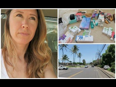 Maui Vlog | Breaking My Camera | Packing Skincare | Garage Sale