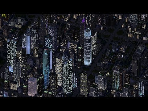 Advanced Tutorial for SimCity 4 [Video SimCity 2014]- Making huge cities with skyscrapers