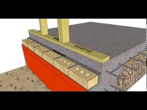 Section through a Brick Veneer, Slab on ground Building Part 2