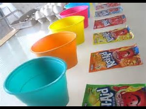 How to Decorate Easter Eggs with Kool Aid