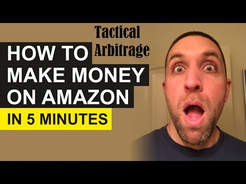 How To Make Money on Amazon in 5 minutes With Tactical Arbitrage