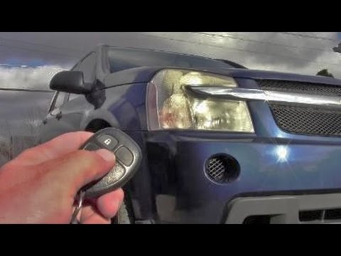 How to Disable Remote Lock Horn Chirp on Chevy Equinox