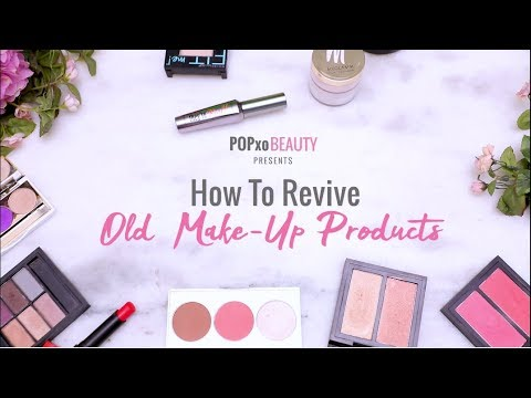 How To Revive Old Make-Up Products - POPxo Beauty