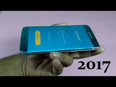 Samsung Galaxy S7 Edge 2017 (Coral Blue) Unboxing & FIrst Look!