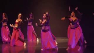 Tango Oriental : Fériel Rodriguez Choréo  Studients Jawhara 2015 Jawhara Oriental Festival 2016