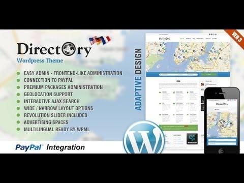 Download the 'Directory' Wordpress Theme