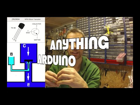 NPN Transistor as a switch. Control Everything with Arduino [Anything Arduino] ep23