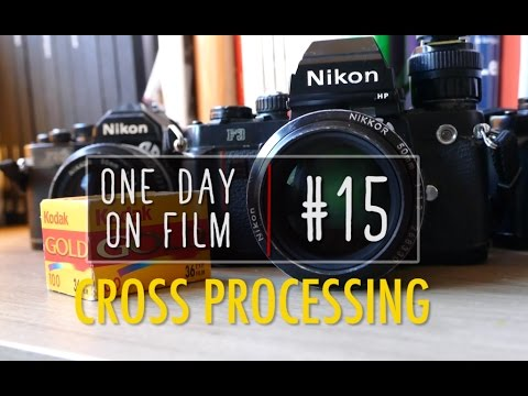 One Day On Film #15 | Cross Processing Experimentation (Colour film in Black and White)
