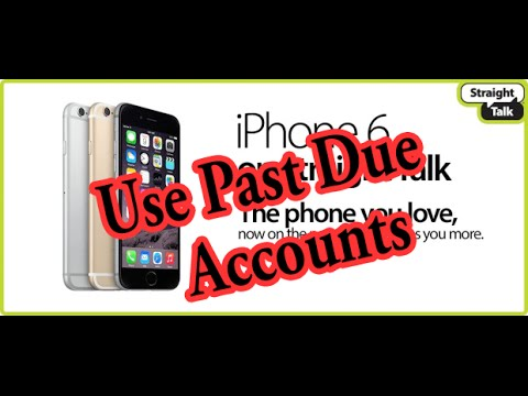 Use Past Due Verizon/AT&T iPhone Accounts On StraightTalk: STRAIGHT TALK MUCH CHEAPER