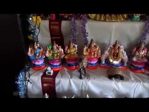 NAVRATHRI GOLU - 2014...Decorated 5 steps Colorful Dolls, at my home, Mumbai
