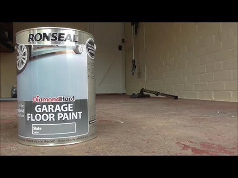 Water-Based Garage Floor Paint Diamond Hard Slate Grey