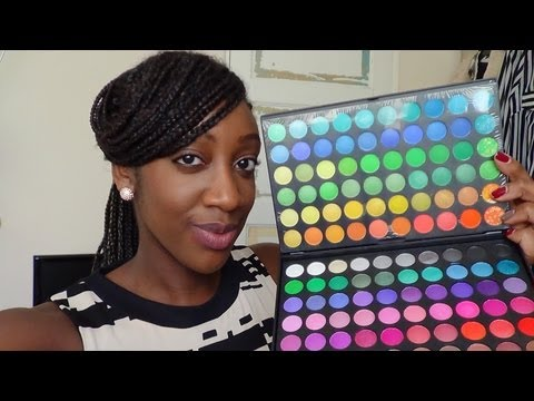 Review: Ebay 120 Eyeshadow Palette