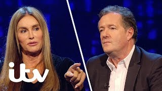 Caitlyn Jenner Shuts Down Piers Morgan After Offensive Comment   Piers Morgan's Life Stories