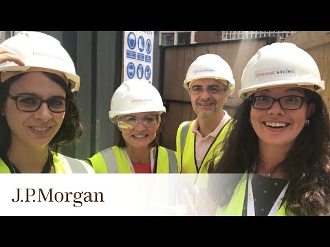 The London Service Corps Makes Progress in Week Two of the Programme | J.P. Morgan
