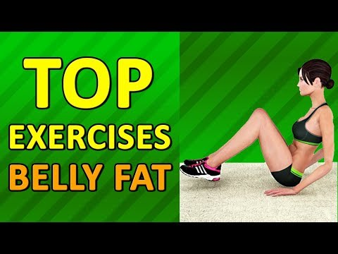 Top 7 Exercises To Lose Belly Fat For Women At Home