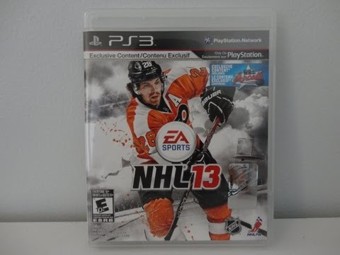 NHL 13 Unboxing! (Pre-Order Bonus)