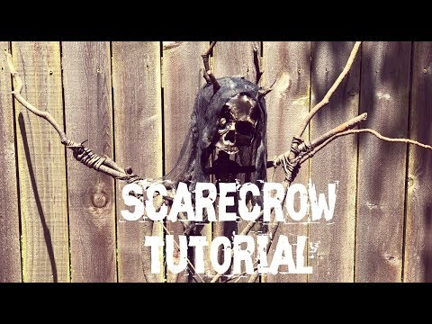 How to make a creepy scarecrow for Halloween - Helga, Queen of the Forest