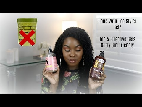 Done With Eco Styler Gel? My Top 5 Effective Gels | Curly Girl Friendly