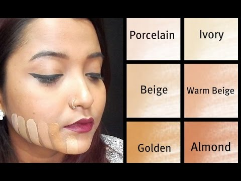 How To Choose The Right Foundation Shade|Beginner| Indian Skin Tone