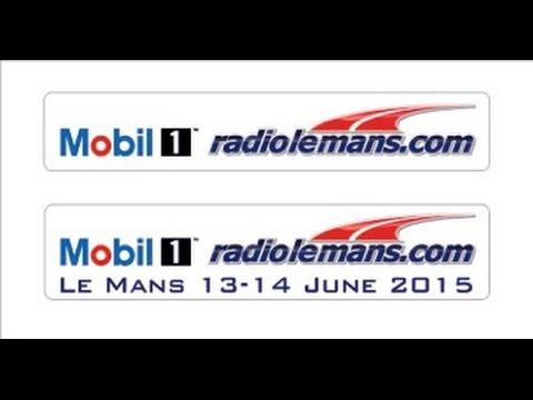 Mobil 1 Radio Le Mans - Race Day  StudioVision  Part 1 - Powered by Duke Video