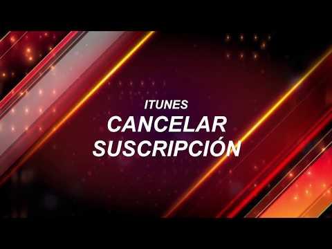 Como cancelar suscripción iTunes - Apple Music - iTunes Match [eng sub]