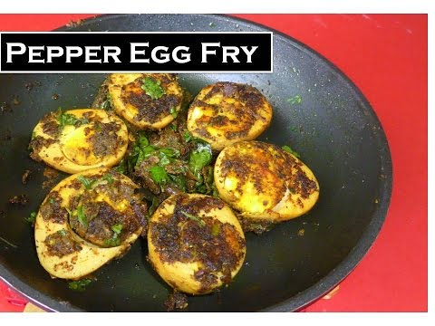 Spicy Pepper Egg Fry [Roast] | Best option for plain bolied eggs | Chettinad style | Deepa kitchen