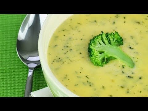 How To Make Creamy Anti-Cancer Broccoli Soup!