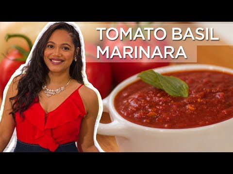 Tomato Basil Marinara Sauce | Homemade Pasta Sauce | Made To Order | Chef Zee Cooks