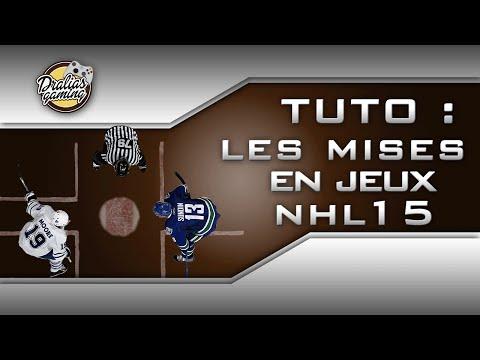 NHL 15 - TUTO - mise en jeu - faceoffs