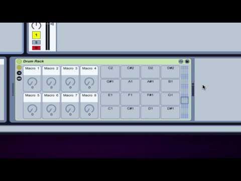 Ableton Tutorial - Drum Rack Basics