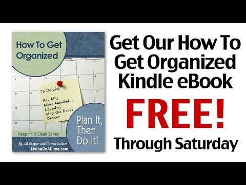 How To Get Organized Kindle eBook Free Through Saturday!