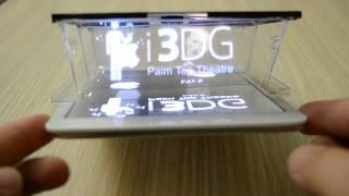 New i3DG Hologram for Smartphones and Tablets